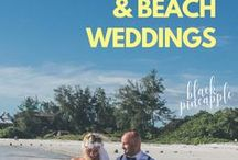 Florida Beach Weddings / Ideas for planning your dream or destination wedding in Sarasota, Siesta Key, Lido Key, Fort Myers Beach, Sanibel, Naples, or Marco Island Florida. #Florida #BeachWedding #WeddingIdeas #MustDoFL