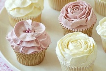 Cupcakes / A cupcake is a perfect company for a delicious moment