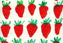 strawberries / by Charlotte Willner