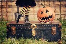 Halloween / Es ist wieder soweit! Trick or Treat! Süßes oder Saures! Halloween ist Styling und Verkleidung.