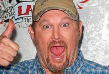 "Larry The Cable Guy / Daniel Lawrence ""Larry"" Whitney, who is best known by his stage name and character Larry the Cable Guy, is a multiplatinum recording artist, Grammy nominee, Billboard winner and one of the top comedians touring the country. Whitney has released seven comedy albums and has starred in three Blue Collar Comedy Tour-related movies, as well as in the films Larry the Cable Guy: Health Inspector, Delta Farce, and Witless Protection, as well as voicing ""Mater"" in the Cars franchise."
