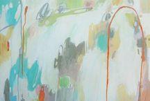 Abstract and Semi Abstract art