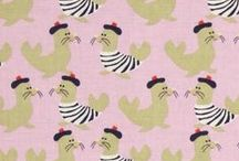 favorite fabrics / by Charlotte Willner