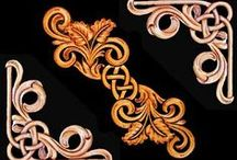 ART: Patterns - Carving Leather & Metal
