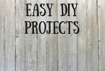 Easy DIY Projects / Easy DIY projects