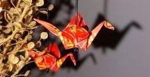Jarní doplňky... / Tato nástěnka se týká ručně vyráběných šperků, nejvíce origami náušnice a plstěné doplňky a hlavně aktuální kolekce, připomínající jaro.
