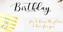 Font Scripts / Calligraphy style, decorative characters and a dancing baseline! So beautiful on invitation like greeting cards, branding materials, business cards, quotes, posters, etc