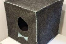Cat houses made by KO-KOT