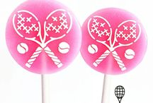 You'll LOVE ALL the sweets / All the tennis themed sweet treats