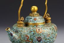 Chinese Dynasty's  porcelain art
