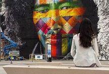 Artes de Rua LOC / Arte de rua de modo geral, pesquisa inteiramente de cunho pessoal e TCC de formatura em agenciamento.