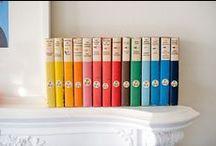 books, books, books / by Loren Burgess