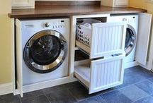 Laundry Decor & tips / How to Decorate Your Laundry Room + Washing Tips, too!