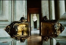 Doors, just turn the handle and.... / by Rachel Hope