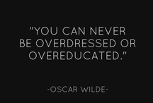 Fashion Quotes / by Wardrobe Oxygen