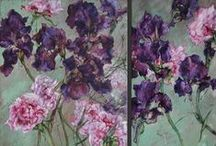 Claire Basler - Painter / Claire Basler is a French painter. For more floral inspiration and flower arranging tips - visit my blog Of Spring and Summer: http://ofspringandsummer.blogspot.co.uk/