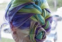 fun hair / by Michelle Rowell