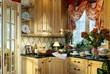 Home -Kitchens / Kitchens are often the heart of the home. Here are a variety of looks that caught my eye.