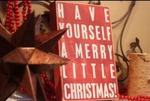 Merry Little Christmas / My FAVORITE Holiday!  / by Ashley McCulla