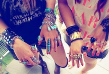 jewels..and arm candy / by Michelle Rowell
