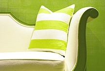 Color Peridot Green / Peridot is a bright Lime or Apple green. It's a very lively color / by Debbie Clark