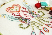 Sewing: Embroidery/Needlework / by DeAnne [One Project After Another]