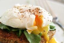 Eggs, brunch, breakfast