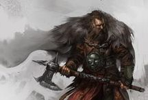 Characters / Character Design, heroes, warriors and fantasy art