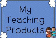 My Teaching Products / Teaching Products available from my Teachers Stores - simple click on the links to be taken straight to the product.
