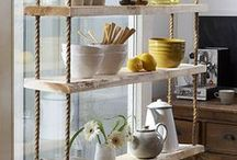 Shelves / Shelves, shelving, storage, kitchen, home decoration, book shelves, interior design