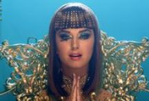 Katy Perry / Katy Perry costume designs, makeup, clips and live concerts artwork