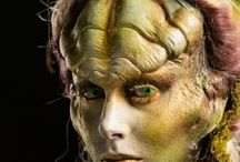 SyFy's Face off artwork / Face Off is a Syfy original series featuring McKenzie Westmore, Ve Niell, Glenn Hetrick overseeing special effects make up artists competing