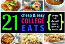 Healthy Quick Recipes / Easy but healthy ways to eat while at college!