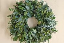 Autumn and Winter Wreaths / Wreaths are not just for Christmas! Here is some inspiration for creating creating autumn and winter wreaths. For more floral inspiration and flower arranging tips - visit my blog Of Spring and Summer: http://ofspringandsummer.blogspot.co.uk/