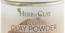 Detox Clay Powder Products / Detox Clay Powder is the premier clay for detoxing and deep cleansing. Used by the world's finest spas for clay detoxing baths, facials and full body wraps.