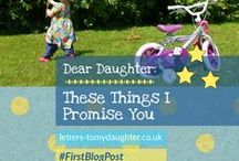 Letters to my Daughter - Recent Blog Posts / Recent blog posts from Letters to my Daughter - a blog promoting positive parenting + friendly feminism