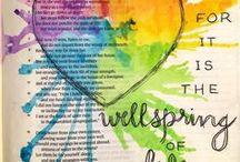 Bible Journaling / Really fun Bible journaling stuff!