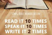 Scripture Memorization / Scripture memory tools and helps!