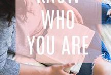 Know Who You Are / Do you ever wonder who you are and what your purpose is? Do you ever feel unworthy, unloved, or set aside? You need to read these articles for hope and encouragement!