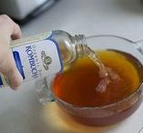 Kombucha / kombucha recipe, kombucha benefits, kombucha flavors, kombucha how to make