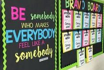 Classroom Decor | Elementary / Adorable, kid friendly and colourful ideas for an elementary classroom.