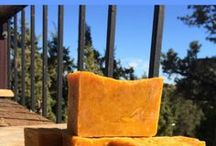 Natural Soapmaking / Soap making with natural ingredients:  No chemical fragrances or colorants. Handmade natural soap recipes