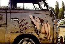 VW Bus Rusty