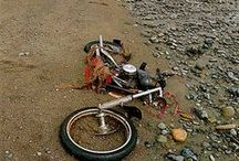 Motor Bicycle Rusty