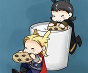 Tom & Hiddleston & Loki <333 / Can I hiddle you...?