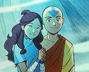 Avatar: aang and katara