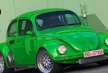 VW old beetles+++