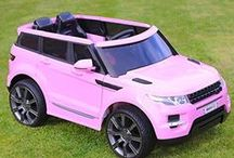 Pink Ride On Car