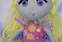 Handmade Doll and Figures by Me / cloth and clay dolls / by Cynthia Theroux