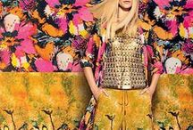 Print Play / Prints gone wild.  Whether vegetation, floral, or fauna, the mix mastery of prints on all scales is a thrill.